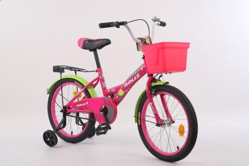 """Велосипед ROLIZ 18"""" (302) розовый"""
