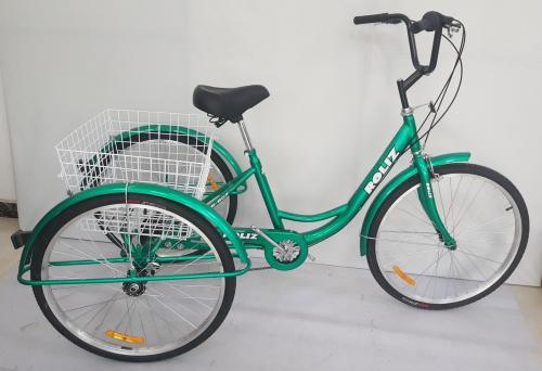 3-колесный взрослый велосипед Roliz 26-607
