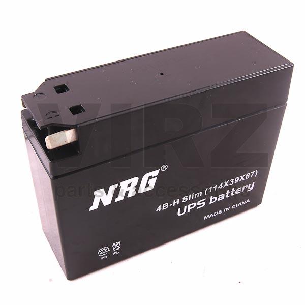 Аккумуляторная батарея 12V2,3Ah Slim (122x38x86) (залитая, необслуж.) NRG; AD/JOG
