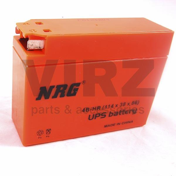 Аккумуляторная батарея 12V2,3Ah Slim (122x38x86) (гелевая, необслуж.) NRG; AD/JOG