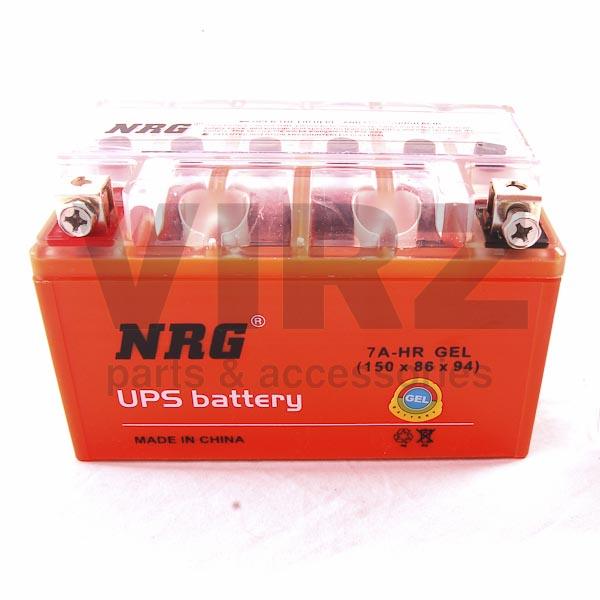 Аккумуляторная батарея 12V7Ah (150x86x94) (гелевая, необслуж.) NRG