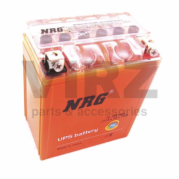 Аккумуляторная батарея 12V7Ah (113x70x130) (гелевая, необслуж.) NRG
