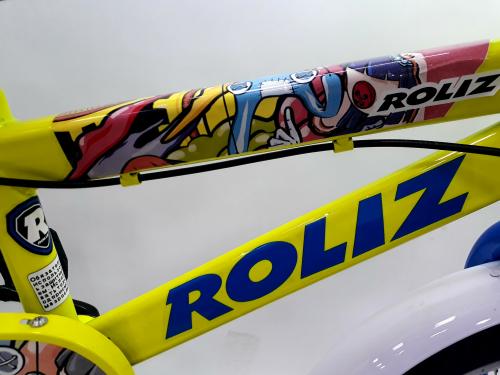 """Велосипед ROLIZ 16"""" желто-зеленый"""