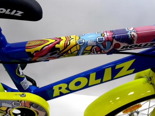 "Велосипед ROLIZ 16"" синий"