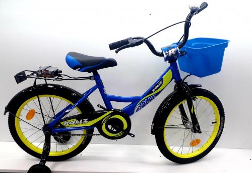 "Велосипед ROLIZ 18"" синий"