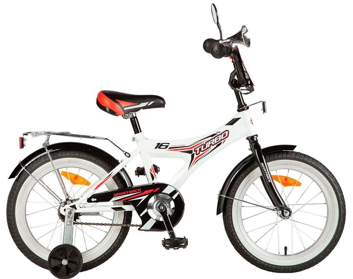 Велосипед Novatrack Turbo белый 16