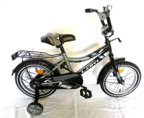 Велосипед Loki cross 16 серый