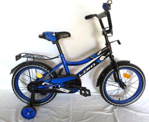Велосипед Loki cross 16 синий