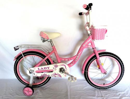 Велосипед Loky lady 14 розовый