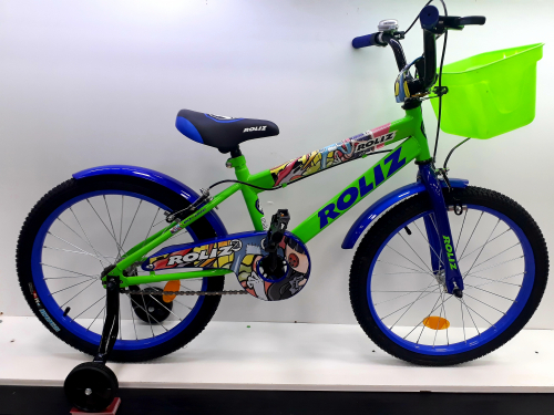"""Велосипед ROLIZ 20"""" (002) темно-зеленый"""