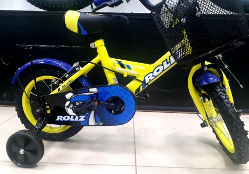 """Велосипед ROLIZ 12"""" (320) желтый"""
