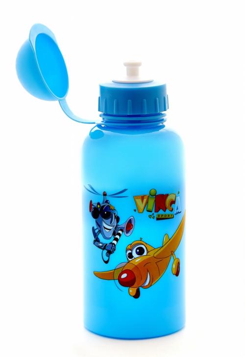 Фляга детская велосипедная с защитой от пыли VSB 03 blue