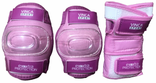 Защита детская (комплект), pink