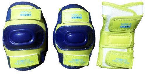 Защита детская (комплект), lime